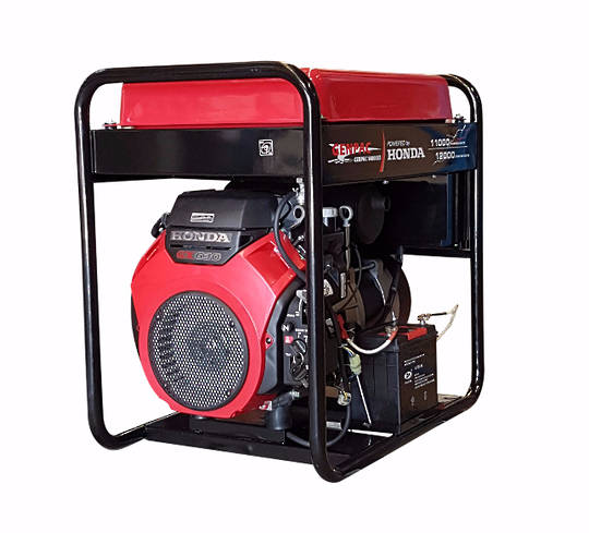 Genpac 14000E3 12kW Honda Powered Generator 3 Phase