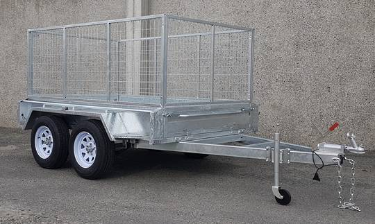 Safari 8x5 Tandem Axle Box Trailer Incl 900mm Cage