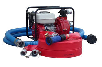 "1½"" Fire Fighter Honda Powered Pump + Hose Kit, Firefighter"