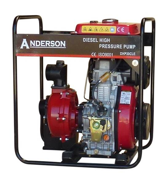"3"" Anderson Powered Fireboss® High Pressure Water Pump"