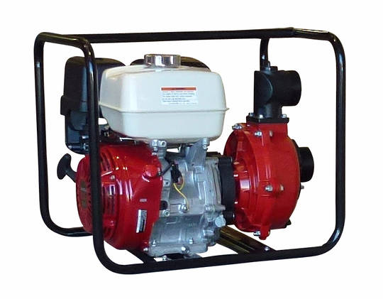 "3"" Honda GX390 Powered Fireboss® 801 High Pressure Water Pump El. St"