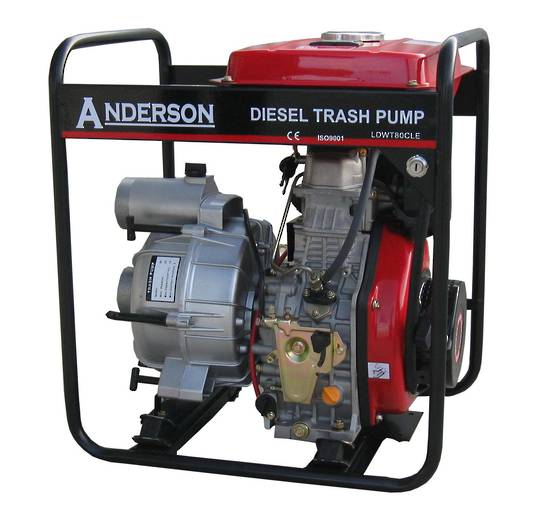 "Anderson 3"" Trash Pump + Hose Kit"