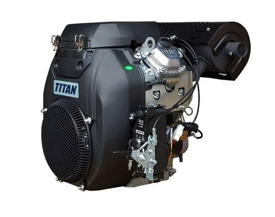 Titan 22HP V-Twin Engine