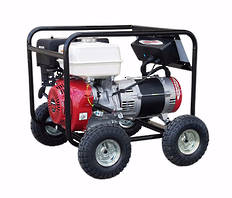Genpac 7800W 6.5kW Honda Powered Worksite Generator RCD