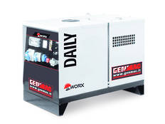 Genmac Yanmar Powered Daily RG5000YS Generator 6.1kVA Silenced 230v
