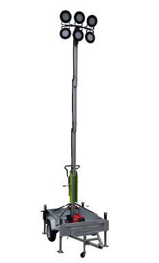 LED Towable Light Tower