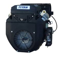 Titan 22HP V-Twin Engine