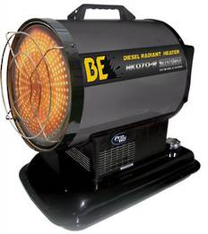 BE HK070R Radiant Diesel Heater 20kW