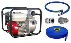"3"" Honda Powered Pump + Hose Kit"