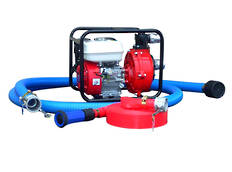 "1½"" Fire Fighter Honda Powered Pump + Hose Kit"