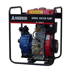 "1½"" Anderson Powered Fireboss® Twin Impeller Pump"