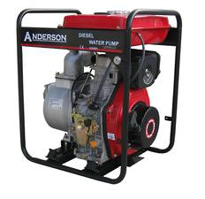 "Anderson 3"" Water Pump Large Fuel Tank"